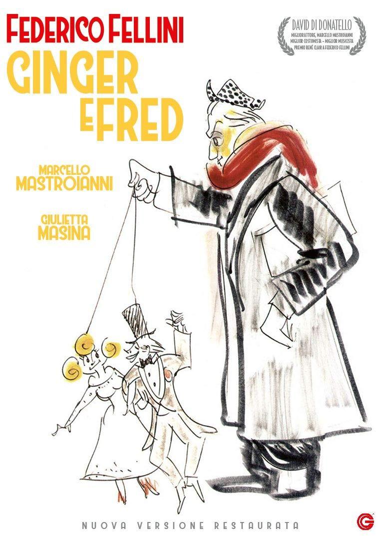 GINGER E FRED (DVD)