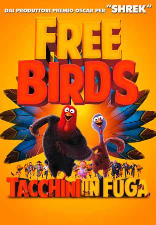 FREE BIRDS - TACCHINI IN FUGA (DVD)