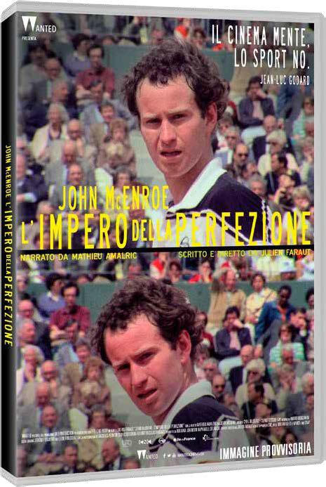 JOHN MCENROE - L'IMPERO DELLA PERFEZIONE (DVD)
