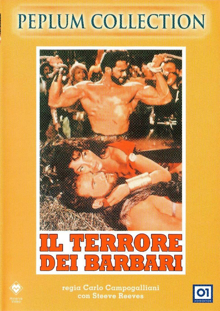 IL TERRORE DEI BARBARI (DVD)