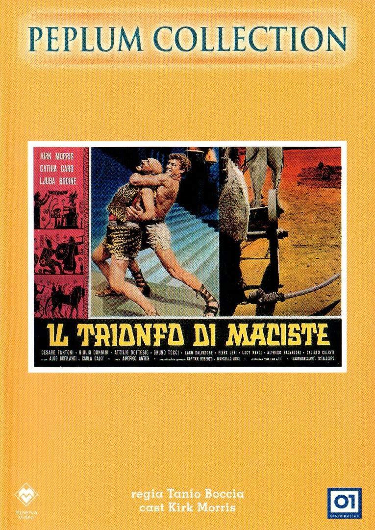 IL TRIONFO DI MACISTE (DVD)
