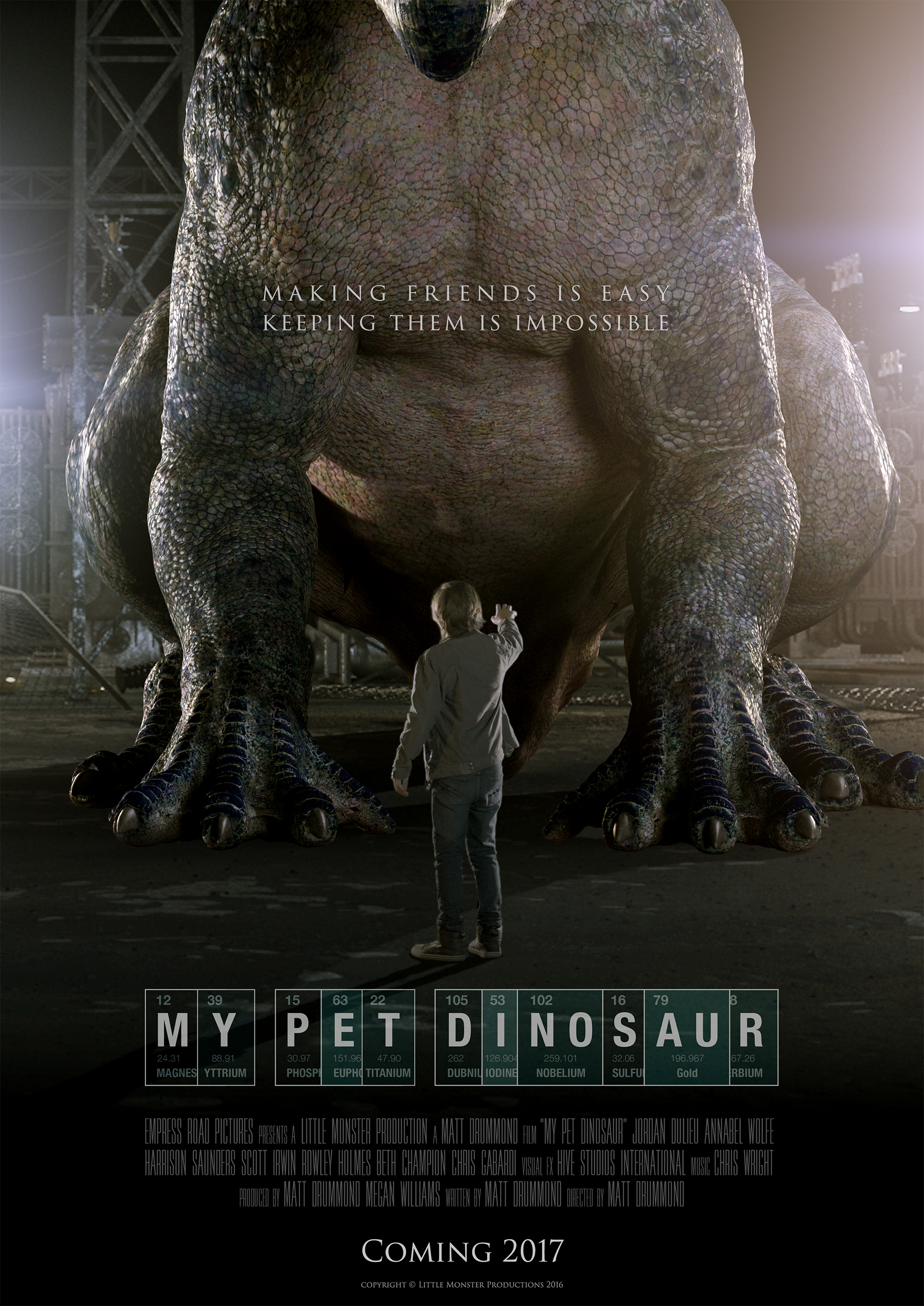 MY PET DINOSAUR (DVD)