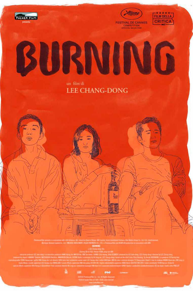 BURNING - BLU RAY