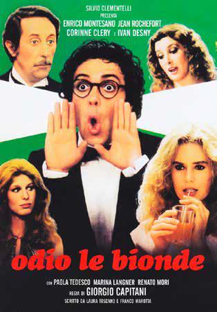 ODIO LE BIONDE (DVD)