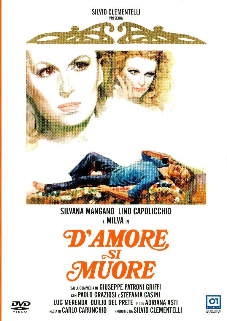 D'AMORE SI MUORE (DVD)