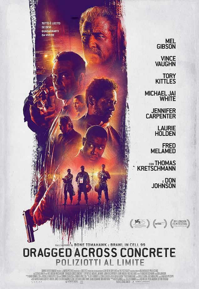 DRAGGED ACROSS CONCRETE - POLIZIOTTI AL LIMITE (DVD)