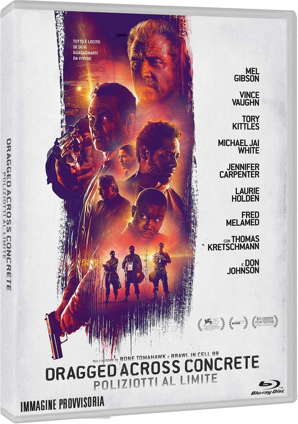 DRAGGED ACROSS CONCRETE - POLIZIOTTI AL LIMITE - BLU RAY