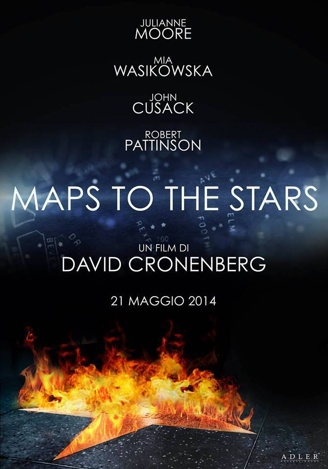 MAPS TO THE STARS - BLU RAY