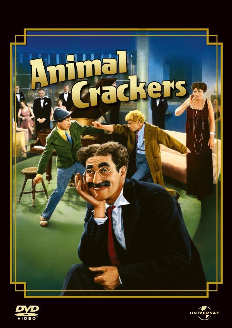 ANIMAL CRACKERS - MATTI DA LEGARE (DVD)