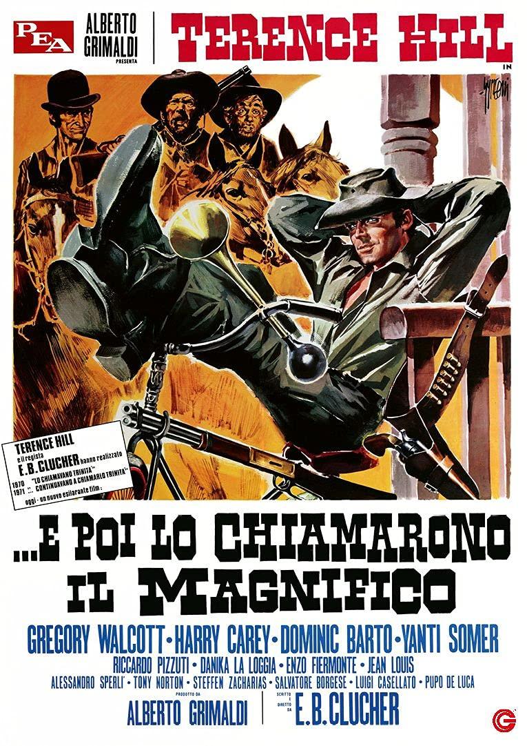 E POI LO CHIAMARONO IL MAGNIFICO (DVD)