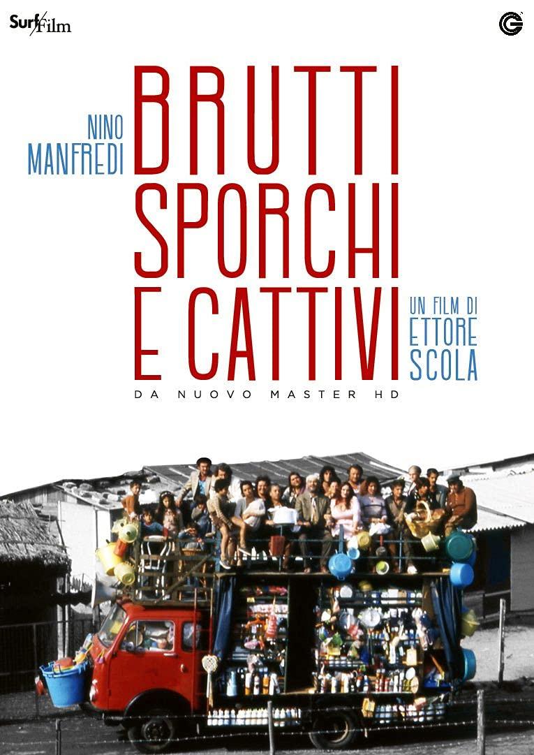 BRUTTI SPORCHI E CATTIVI (DVD)