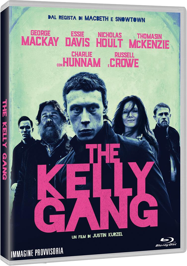 THE KELLY GANG - BLU RAY - AUDIO SOLO ITALIANO
