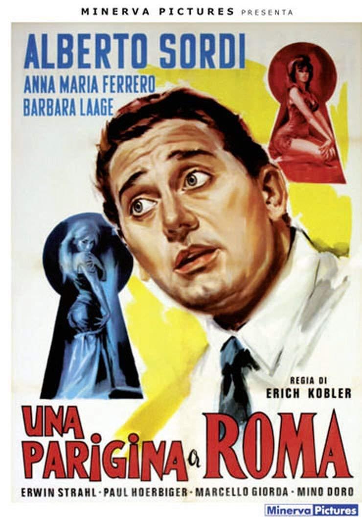 SORDI - UNA PARIGINA A ROMA (DVD)