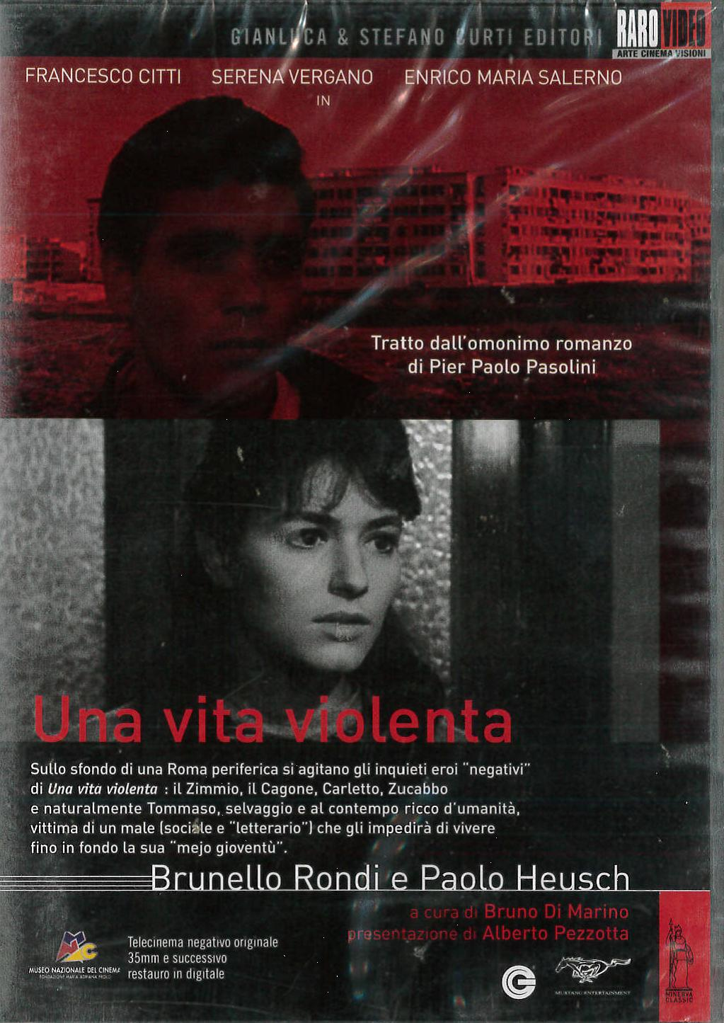 UNA VITA VIOLENTA (DVD)