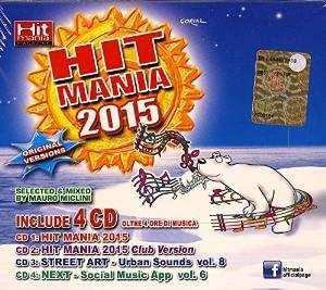 HIT MANIA 2015 -4CD (CD)