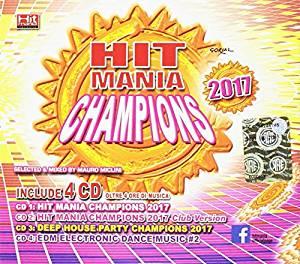 HIT MANIA CHAMPIONS 2017 -4CD (CD)