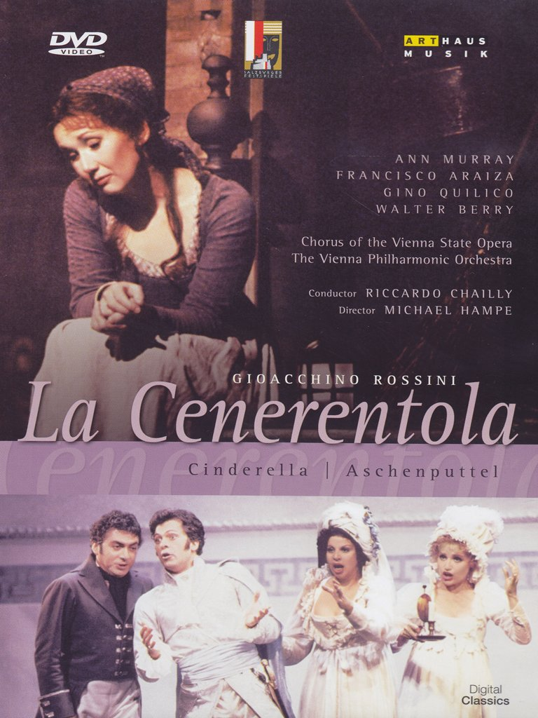 LA GIOACCHINO ROSSINI - CENERENTOLA (DVD)
