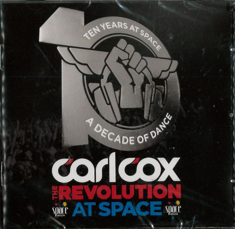 10 YEARS AT SPACE. A DECADE OF DANCE BY CARL COX -2CD (CD)