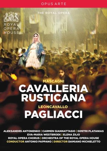 PIETRO MASCAGNI / RUGGERO LEONCAVALLO - CAVALLERIA RUSTICANA & PAGLIACCI (DVD)