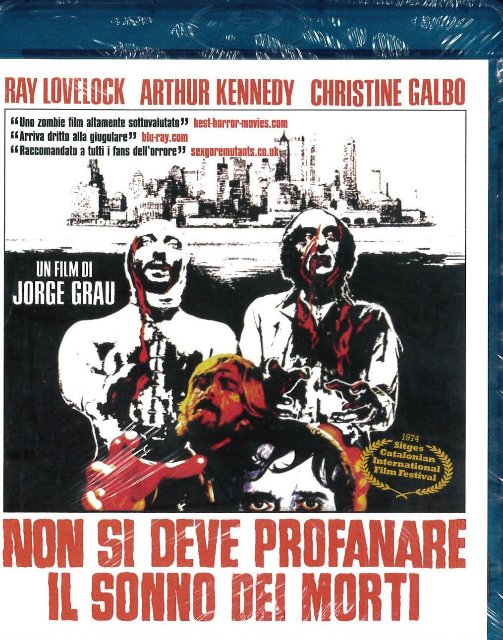 NON SI DEVE PROFANARE IL SONNO DEI MORTI (BLU RAY)
