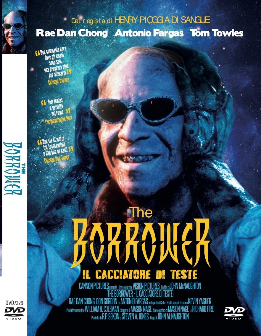 THE BORROWER IL CACCIATORE DI TESTE (DVD)