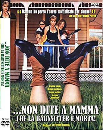 NON DITE A MAMMA CHE LA BABY SITTER E' MORTA (DVD)