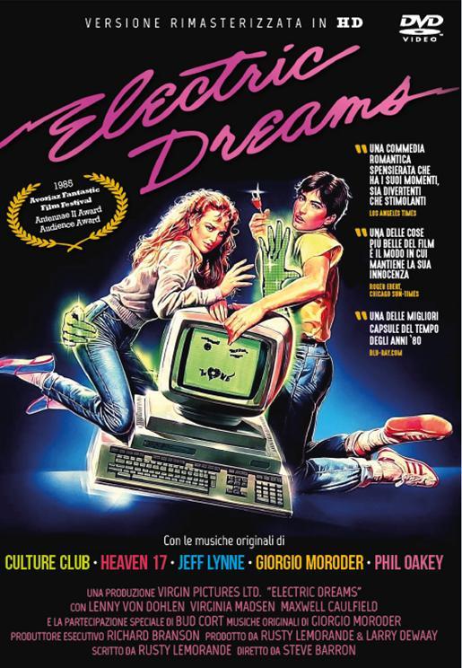 ELECTRIC DREAMS - RIMASTERIZZATA IN HD (DVD)