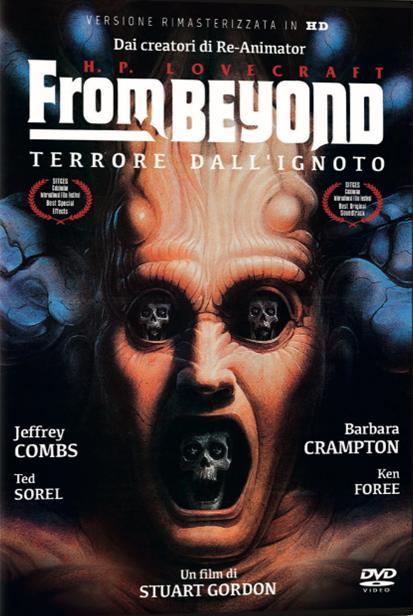 FROM BEYOND - TERRORE DALL'IGNOTO ( RIMASTERIZZATO IN HD) (DVD)