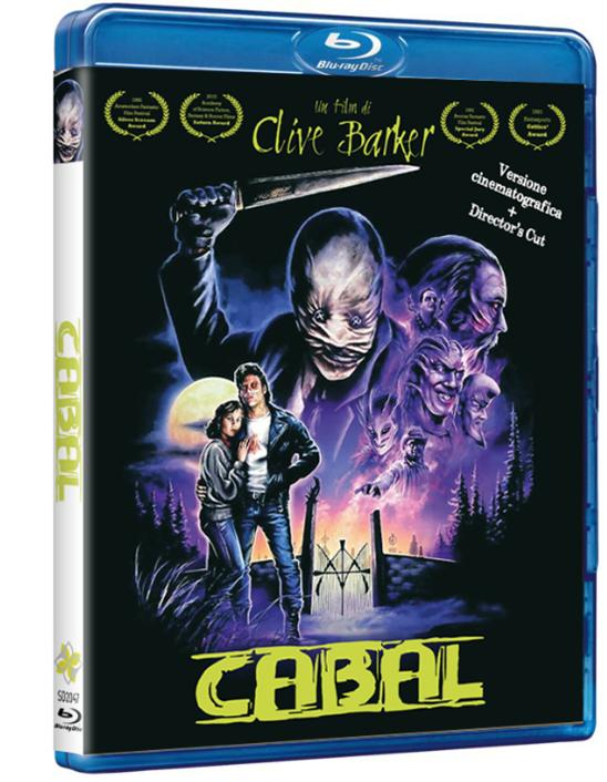 CABAL - BLU-RAY VERSIONE CINEMATOGRAFICA + DIRECTOR'S CUT