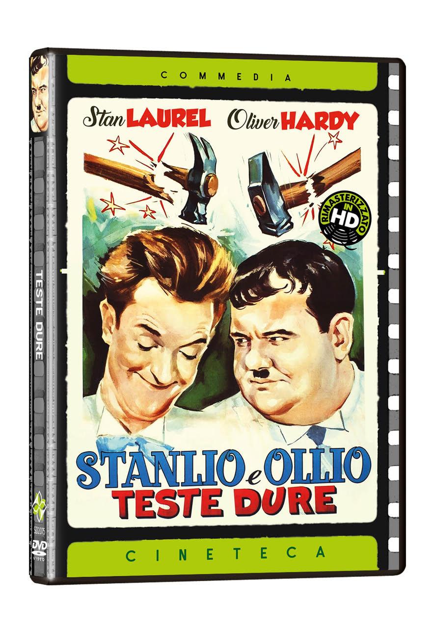 STANLIO E OLLIO TESTE DURE (DVD)