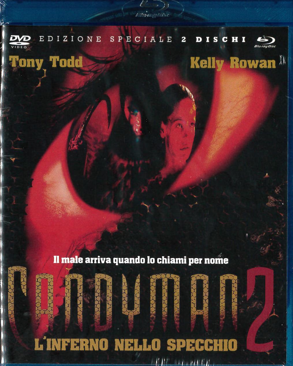 CANDYMAN 2 L'INFERNO NELLO SPECCHIO COMBO PACK [DVD+BLURAY]