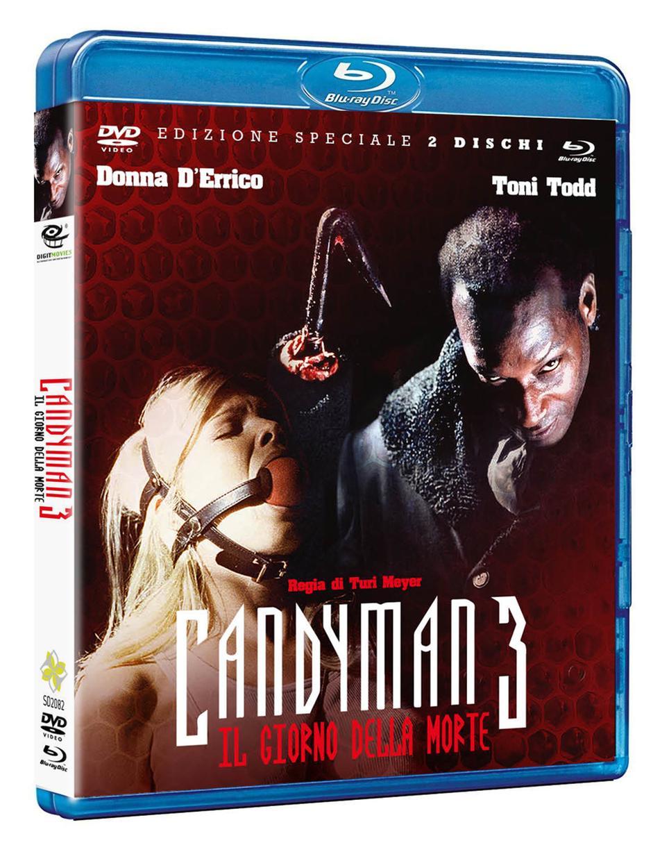 CANDYMAN 3 CANDYMAN - IL GIORNO DELLA MORTECOMBO PACK [DVD+BLUR