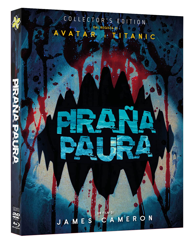 COF.PIRANA PAURA - SPECIAL EDITION (DVD + BLU RAY + 4 CARDS)