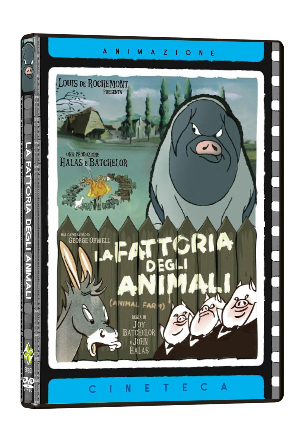 LA FATTORIA DEGLI ANIMALI (DVD)