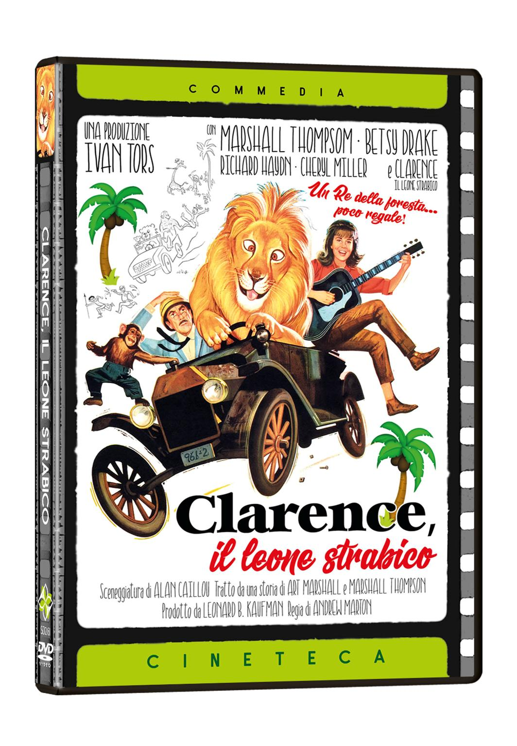CLARENCE IL LEONE STRABICO (DVD)