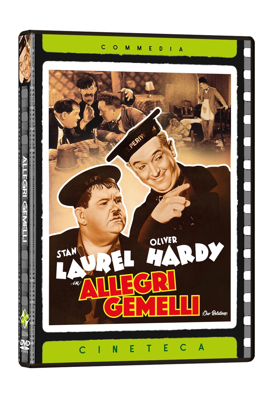 STANLIO & OLLIO - ALLEGRI GEMELLI (DVD)