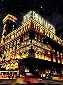 JOE BONAMASSA - LIVE AT CARNEGIE HALL AN ACOUSTIC EVENING -2CD