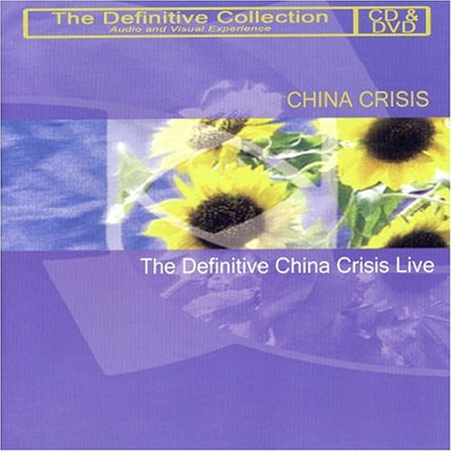 CHINA CRISIS - LIVE (CD+DVD) (DVD)