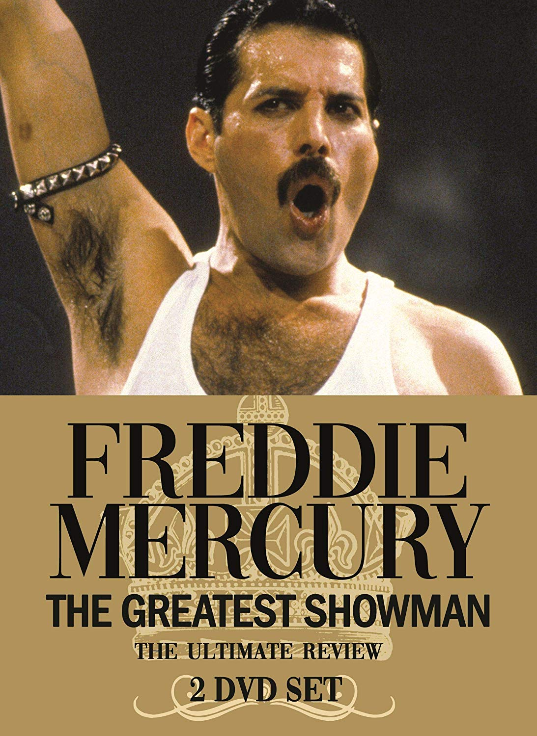 FREDDIE MERCURY - THE GREATEST SHOWMAN (2 DVD) (DVD)