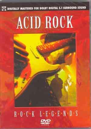 ACID ROCK ROCK LEGENDS (DVD)
