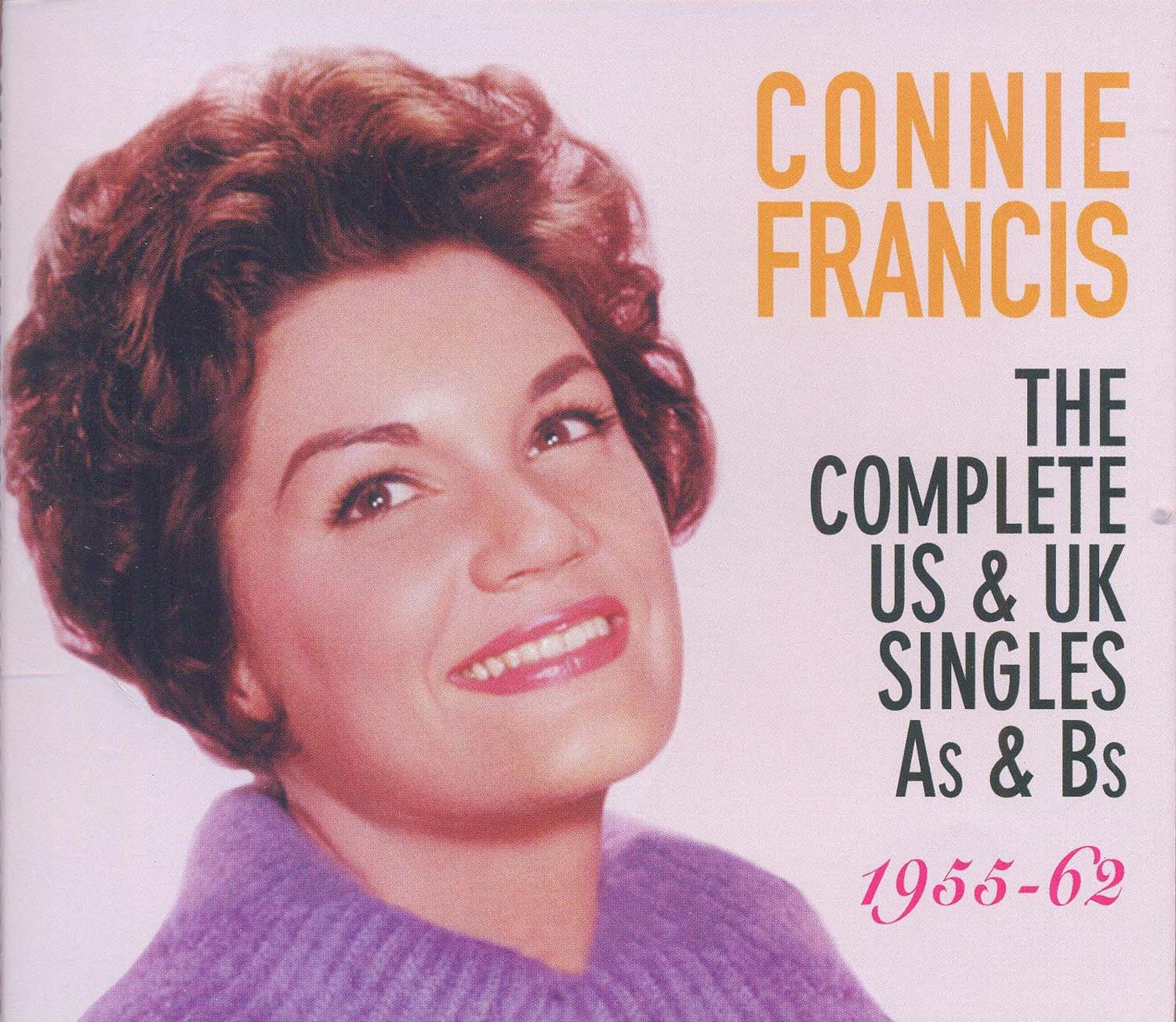 CONNIE FRANCIS - COMPLETE US & UK SINGLES (3 CD) (CD)