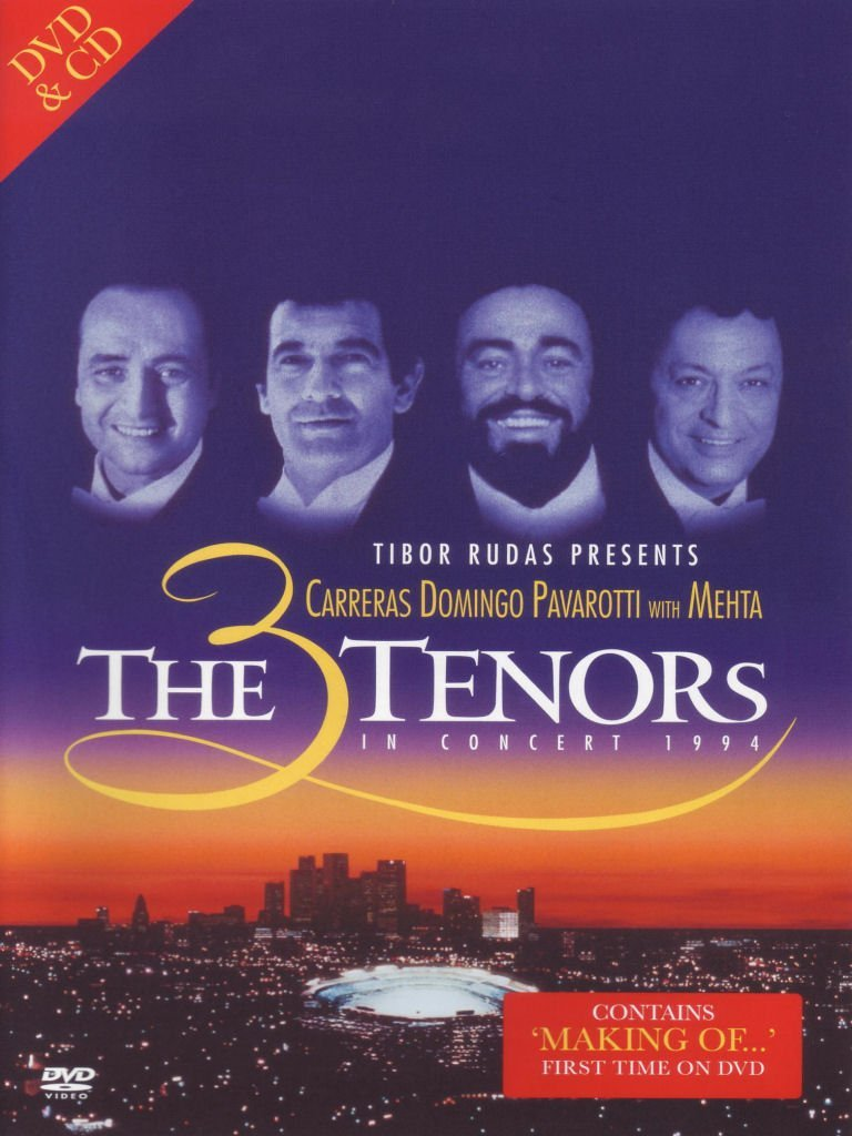 3 TENORS - THE 3 TENORS IN CONCERT 1994 (CD+DVD) (DVD)