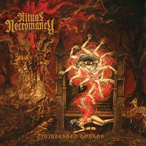 RITUAL NECROMANCY - DISINTERRED HORROR (CD)