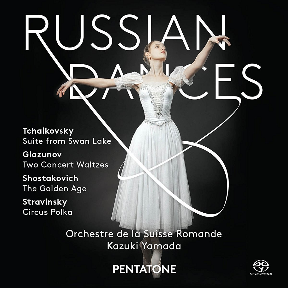 PYOTR ILYICH TCHAIKOVSKY - SWAN LAKE (SUITE) (SACD) (CD)