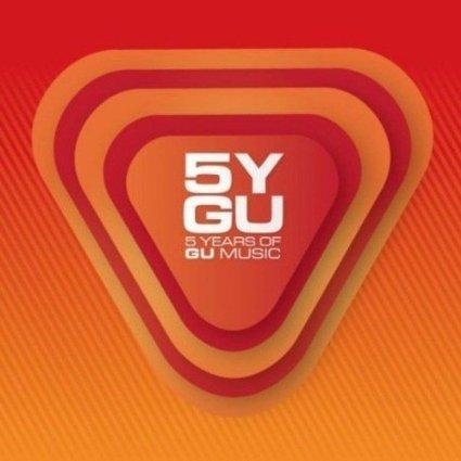 5 YEARS OF GU MUSIC (UNMIXED) -4CD (CD)