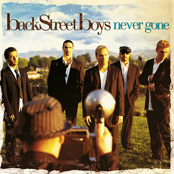 BACKSTREET BOYS - NEVER GONE -USATO (CD)