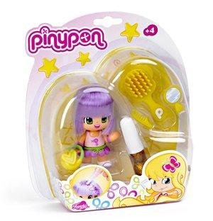 PINYPON 700008935 - BAMBOLA, BLISTER 1 STATUINA DA PETTINARE, CO
