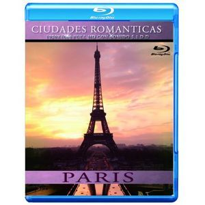 CIUDADES ROMANTICAS PARIS (BLU-RAY)