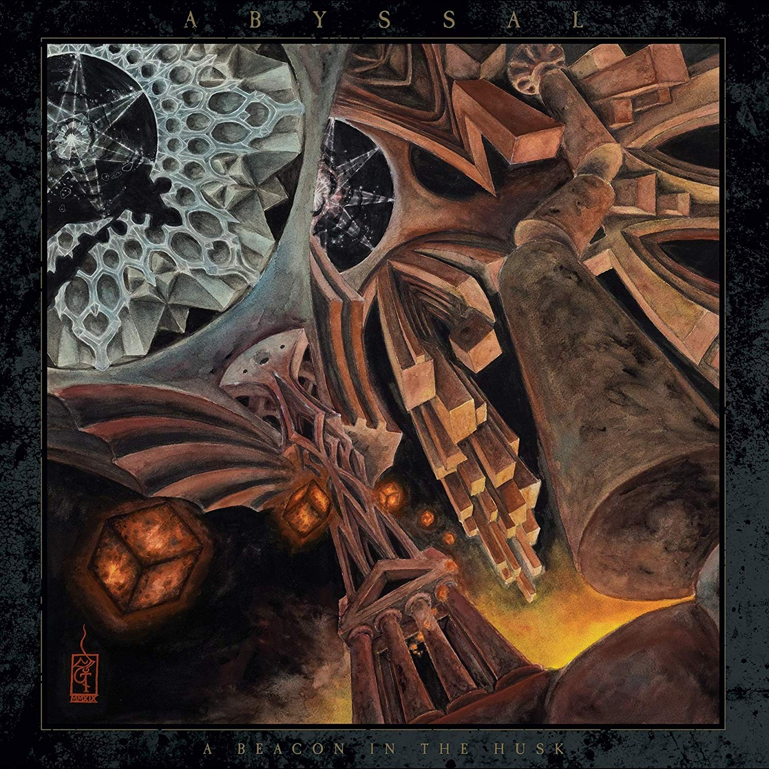 ABYSSAL - A BEACON IN THE HUSK (CD)