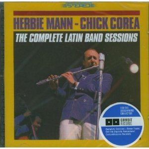 THE COMPLETE LATIN BAND SESSIONS -HERBIE MANN CHICK COREA (CD)